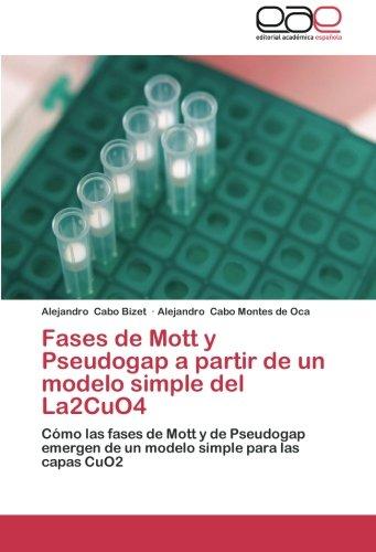 Fases de Mott y Pseudogap a partir de un modelo simple del La2CuO4: Cómo las fases de Mott y de Pseudogap emergen de un modelo simple para las capas CuO2