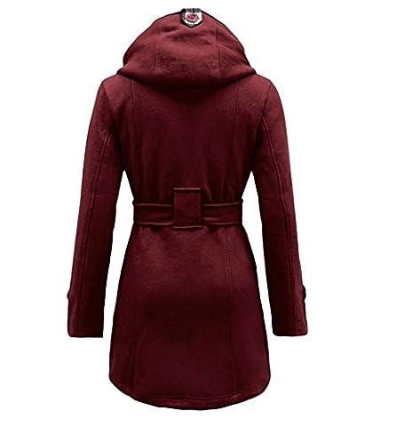 Noroze Frauen Prüfen Hood Mantel