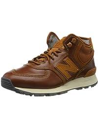 New Balance Herren 574 Sneaker, Schwarz