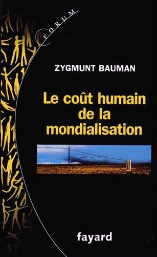 Le coût humain de la mondialisation