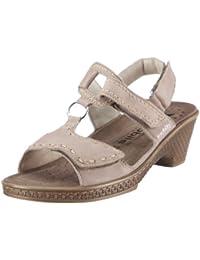 Mobils-Chaussure Sandale-PORDA Beige cuir 6531-Femme
