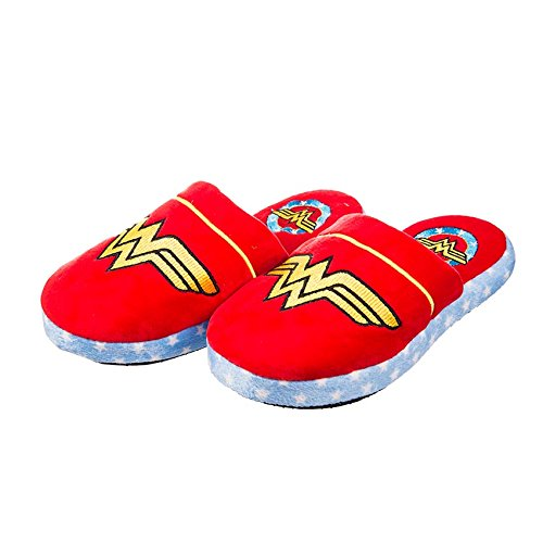 Wonder Woman - Classic Logo Ladies Mule Slippers