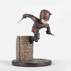 Quantum Mechanix-Figura Daredevil Diorama, Multicolor Abysse Corp_FIGQMX026