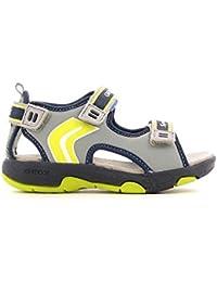 Geox B Elba C, Chaussures Bébé Marche Bébé Garçon, Blanc (C0899), 21 EU