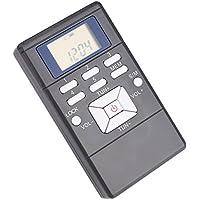 Cewaal Radio FM portátil de bolsillo personal digital de mano con pilas de radio FM con auriculares por la música Portátil Radio FM Con auriculares Digital
