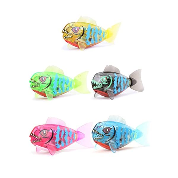 Bath Toys,Powered Funny Kids Swimming Shark Toys Robot Toy Bathing accessories Fish Toy