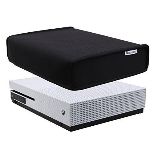 Pandaren prova di polvere neoprene cover manicotto della copertura per Xbox One S console orizzontale posizione (Nero)