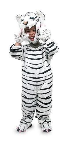 White Tiger Dress Up Costume Age 2-3 by small foot (White Tiger Kostüm)