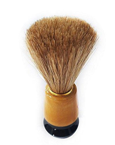 Baal Professional Beard Shaving Brush For Men And Boys, Brown, 20 Grams, Pack Of 1