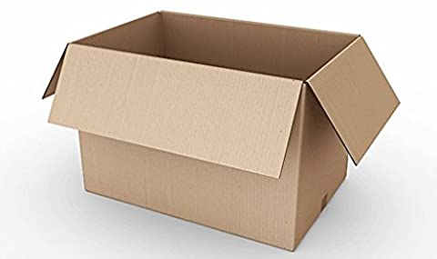 REALPACK® 10 x Boxes Single Wall Size : 12''x9''x9'' - Ideal for Moving House or Just Storing Items Away Free Fast Shipping *Next Day UK Delivery Service*