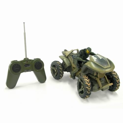 Image of Zappies 8-inch Full Function Radio Control Mongoose and Master Chief