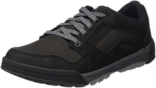 Merrell Berner Shift Lace, Baskets Basses Homme Noir (Black)