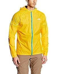 The North Face Storm Stow - Chaleco para hombre, color amarillo, talla L