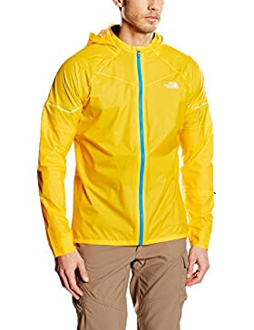 The North Face Storm Stow - Chaleco para hombre, color amarillo, talla M