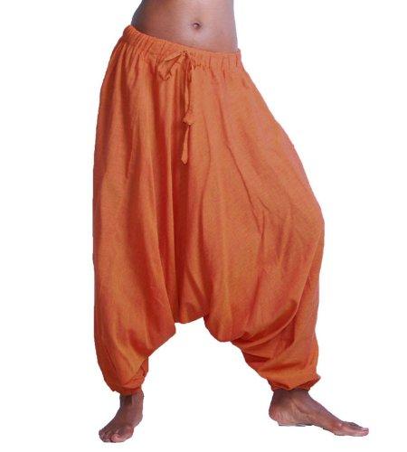 Pantaloni alla turca harem orangetöne