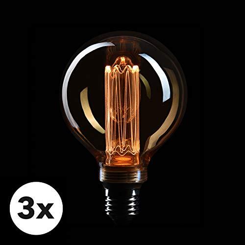 LED-Dekoleuchte runder Rahmen,