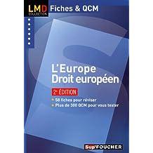 L'Europe - Droit européen