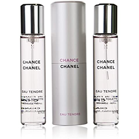Chance Eau Tendre CHANEL Eau de Toilette Ricaricabile 3x20 ml