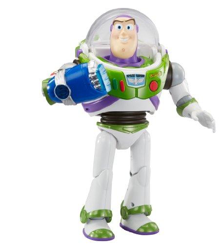 Mattel Y1217 – Disney Pixar – Toy Story – Power Punch Buzz Lightyear Figur [UK Import]