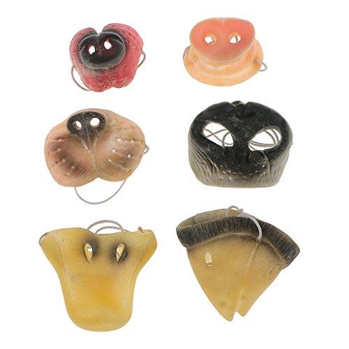Gazechimp Tier Mund Maske Kostüm Halloween Karneval Halloweenmaske Halloween-Geschenk
