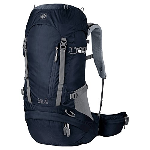 Jack Wolfskin Unisex Wanderrucksack Acs Hike Pack, night blue 65 x 33 x 29 cm, 2004551-1010