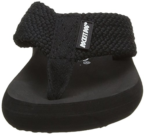 Rocket Dog Sunset, Sandali a Punta Aperta Donna Nero (Black)