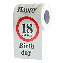 Idea Regalo - Fun carta igienica per compleanno regalo articolo hummelladen maggioranza 18th