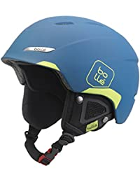 Bollé B-Yond Casco, Unisex, Soft Blue/Lime, Medium