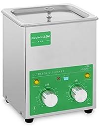 Ulsonix PROCLEAN 2.0M ECO Limpiador Ultrasonidos Professional (2 L, Potencia Ultrasonidos 60 W, Potencia de Calentamiento 50 W, 40 kHz, Temporizador 60 min, Acero Inox)