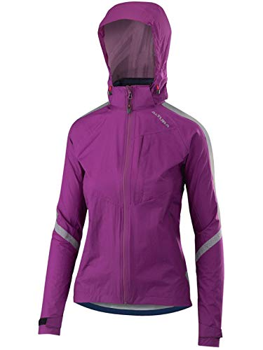 Altura Women's Nightvision Cyclone Jacket, Purple, Size 12