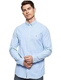 Tommy Hilfiger Herren Core Stretch Slim Oxford Shirt Freizeithemd