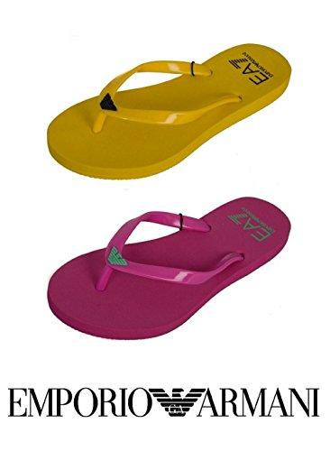 Casual , Damen Zehentrenner, gelb - gelb - Größe: 37