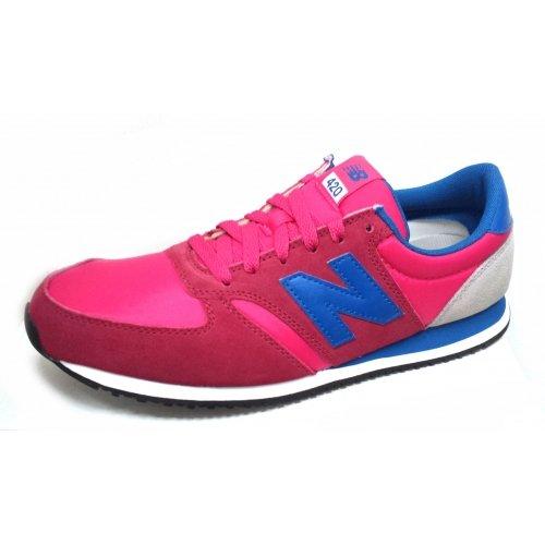 New Balance U420, Low-Top Sneaker unisex adulto Pink (SPB PINK)