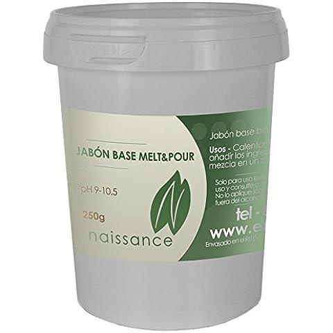 Jabón Base Melt & Pour Blanco 250g