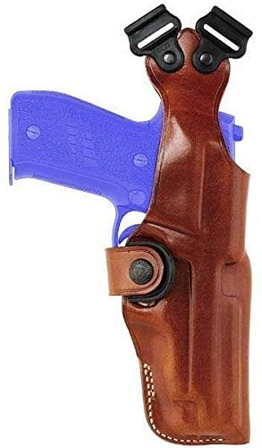 Galco-Vertical-Shoulder-Holster-No-Harness-Ambidextrous-Tan-SIG-Sauer-P226-by-Galco