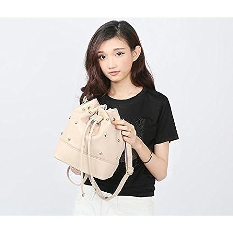 GQQ NUEVOS bolsos de hombro bolsos moda Dacron PU para la parte comercial y lugar de trabajo hasta 6 L GQ bolso @ , gray
