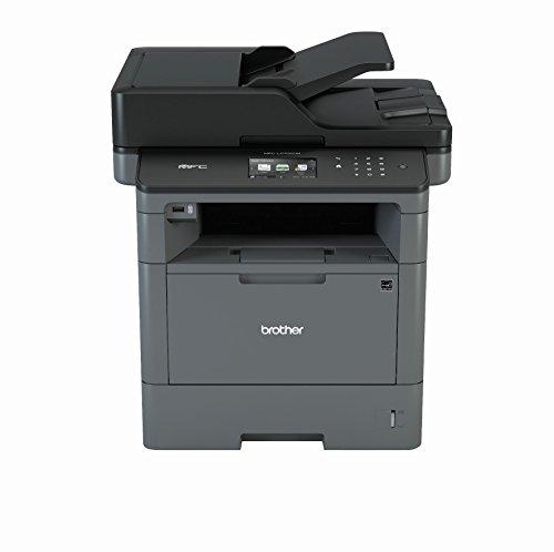 Brother MFC-L5700DN A4 MFP Mono Laserdrucker 40ppm (Drucken, scannen, Kopieren, faxen, 1.200 x 1.200 DPI, Print AirBag für 200.000 Seiten)
