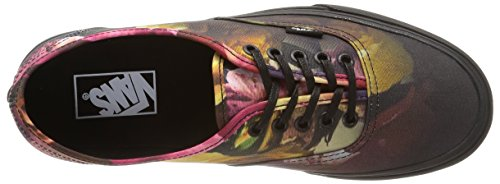 Vans U Authentic Ombre Floral Sneakers, Unisex Multicolore (Ombre Floral/Black/Black)