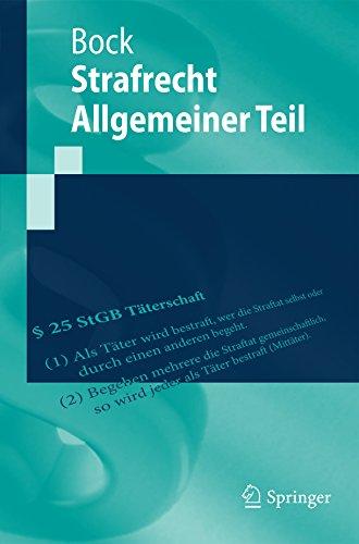 Strafrecht Allgemeiner Teil (Springer-Lehrbuch)