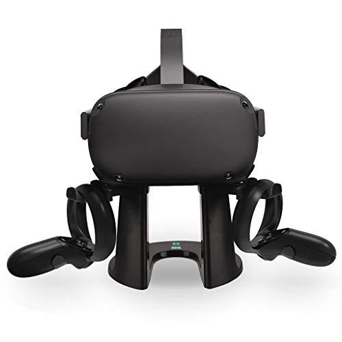 Ständer, happy event Headset-Displayhalter und Controller-Montagestation für Oculus Rift S/Oculus Quest Headset- und Touch-Controller Htc Dash