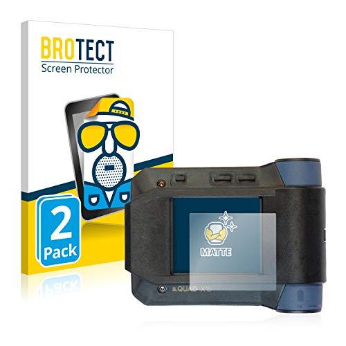 BROTECT 2X Entspiegelungs-Schutzfolie kompatibel mit Swissphone s.Quad X15 Displayschutz-Folie Matt, Anti-Reflex, Anti-Fingerprint