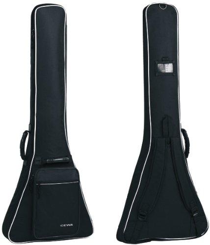 Gewa Economy 12 Flying V Gigbag (schwarz) / reißfest und wasserabweisend