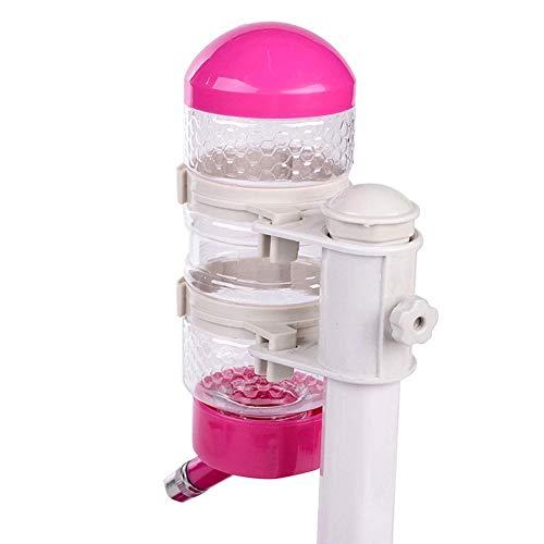 LCZ Pet Wasserspender Für Trinkbrunnen Für Haustiere, Schwerwasserspender Für Hunde Und Katzen,Rot