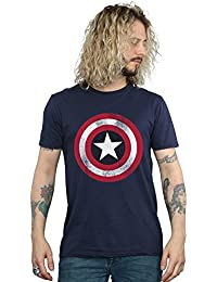 Marvel Avengers Mens Captain America Shield T-Shirt e7f300e5e
