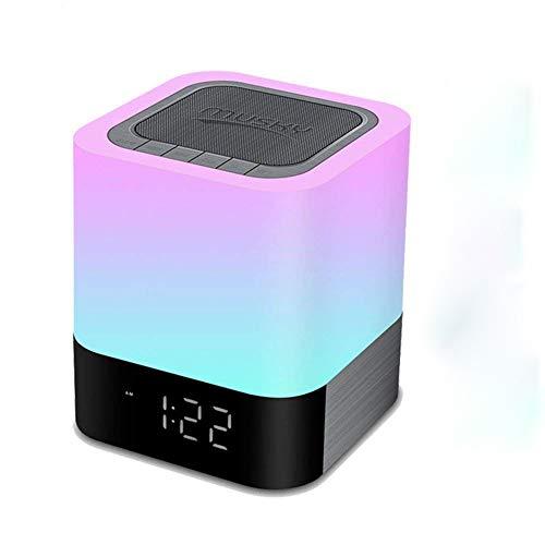 Bluetooth portátil Control Táctil Color luz noche