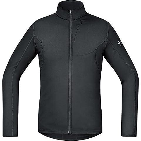 GORE BIKE WEAR Herren Langarm, Thermo-Fahrrad-Jersey, GORE Selected Fabrics, ELEMENT Thermo Jersey, Größe: XXL, Schwarz,