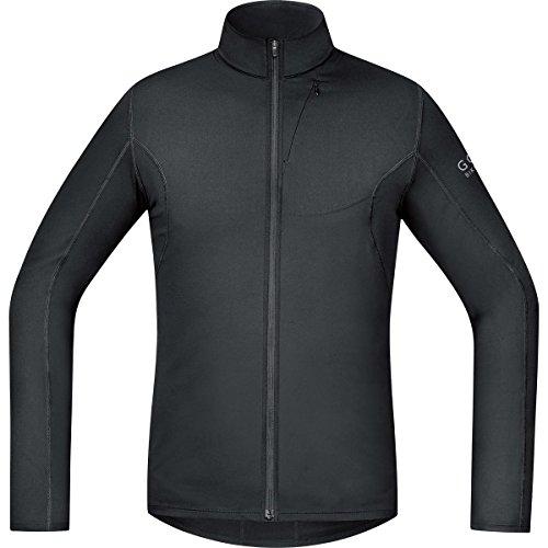 GORE BIKE WEAR Herren Langarm, Thermo-Fahrrad-Jersey, GORE Selected Fabrics, ELEMENT Thermo Jersey, Größe: L, Schwarz, STUNIL - Gore Langarm Trikot
