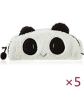 5 Stk Nette Art Panda Soft Federmäppchen Pen Pocket Bag Kosmetik Make up Taschen von GOOTRADES