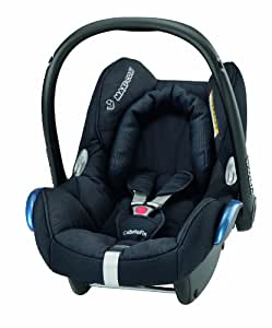 Maxi-Cosi CabrioFix Group 0+ Infant Carrier Car Seat (Total Black)
