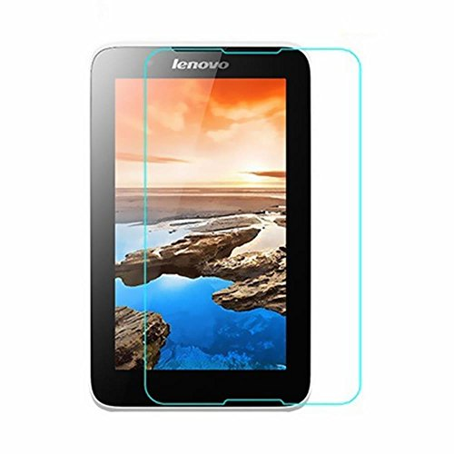 SNOOGG Lenovo A7-50 A3500 The Best clear Tempered Screen Glass Guard  available at amazon for Rs.99